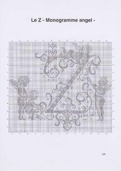 Вышиваем крестиком. МОНОГРАММЫ С АНГЕЛАМИ (29) (495x700, 169Kb)
