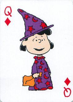 https://flic.kr/p/dd2A3S | Peanuts Great Pumpkin Playing Cards | From the Peanuts Great Pumpkin card deck set.
