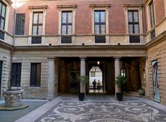 Milan (Italy): Court of the House Museum Bagatti Valsecchi. Visit web site for more pictures and info!