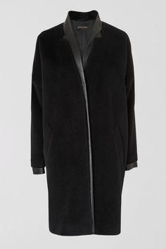 Jaeger Leather Trim Coat, £399