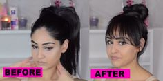 Get Kendall Jenner's Faux Bangs With This Genius Hair Tutorial - Seventeen.com