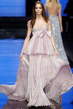 Elie Saab Spring 2007 Couture Fashion Show - Natasha Poly