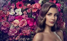 Beauty and Flowers on Behance