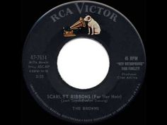 1959 HITS ARCHIVE: *Scarlet Ribbons* - Browns - YouTube