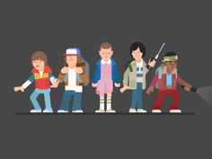 Stranger Things by Gregory Hartman - Dribbble