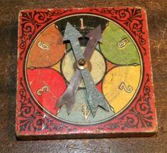 vintage game board.