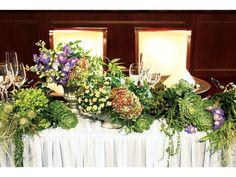 Vress et Rose (ブレス エット ロゼ) 多肉植物を大胆に使ったデコレーションの写真1です。