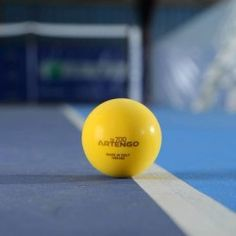 BALL/BOLA TENNIS/TÊNIS ARTENGO TB700 FOAM - STAGE/ESTÁGIO 03 - RED/VERMELHA International Tennis Federation, Play And Stay, Decathlon, Stage, Balls, Tennis