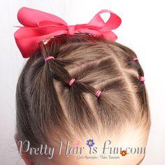 Pretty Hair is Fun: Stair Step Ponytail