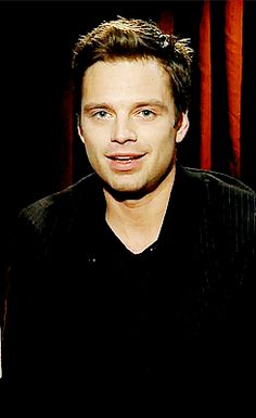 oh my freaking iudfhiewfnc defncddske I CANT EVEN!!! | His eyes are literally the most perfect thing | Sebastian Stan