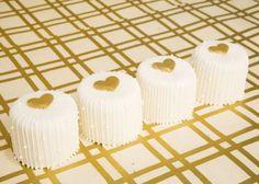 Gold Heart Mini
