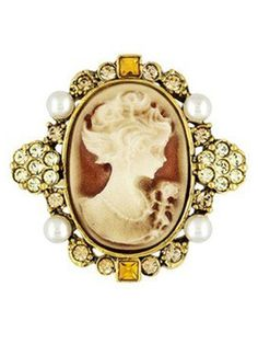 """""""LADY DUFF GORDON'S COUTURE CAMEO RING"""",   The Titanic Jewelry Collection"""