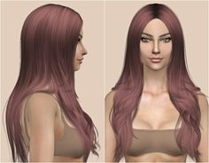 Cazy Denial Hair Retexture at Kenzar Sims via Sims 4 Updates Check more at http://sims4updates.net/hairstyles/cazy-denial-hair-retexture-at-kenzar-sims/