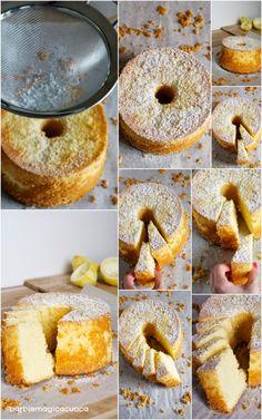 Torta fluffosa al limone