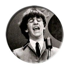 ONLY ONE Beatles Ringo Starr 2-1/4 Inch Button