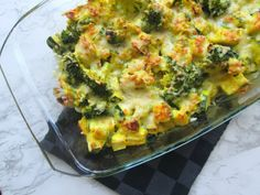 Easy broccoli casserole (low in carbohydrate) - Easy broccoli casserole (low in carbohydrate) - Healthy Low Carb Recipes, Healthy Chicken Recipes, Easy Broccoli Casserole, Mozzarella, New Recipes, Vegan Recipes, Disney Recipes, Disney Food, Drink Recipes