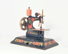 Child's Casige Sewing Machine 19451949 Art by StarfishCollectibles, $55.00