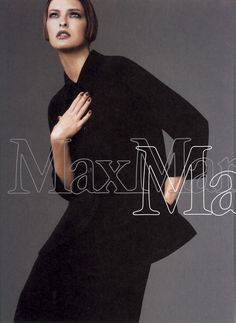 4251fcb075f8 Linda Evangelista   Photography by Steven Meisel   For Max Mara Campaign    Spring 1997