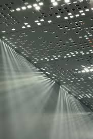 metal perforated ceiling - Google Search