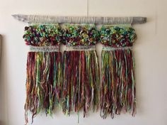 Murales — Marianne Werkmeister Weaving Art, Loom Weaving, Hand Weaving, Tear, Woven Wall Hanging, Yarn Needle, String Art, Textiles, Textile Art