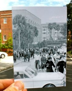 Then and Now Photo-Fusion - http://www.moillusions.com/then-and-now-photo-fusion/