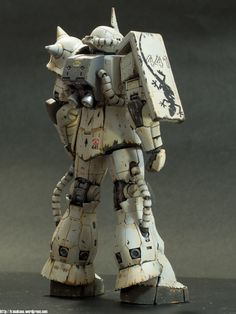 Gundam ZAKU II Minelayer, Bandai 1:100 scale model. #scalemodel #sci-fi #mech