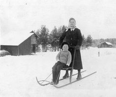On the sled