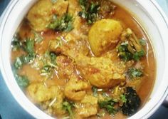 Chicken Potato Curry Recipe -  Very Delicious. You must try this recipe!