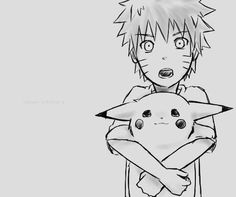 Naruto and Pikachu. Two of my absolute favourites!!!!