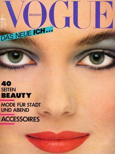 Paulina Porizkova Vogue Deutsch May 1981