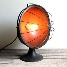 steampunk light fixture!