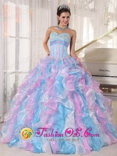 +black light quience dresses | 2013 Spring Multi-color Sweetheart Neckline Quinceanera Dress With ...