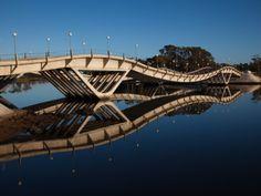 Leonel Viera Bridge, La Barra, Uruguay