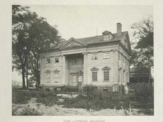 6 Lost Mansions That Rich New Yorkers Once Lived In Apthrope Mansion Charles Ward Apthorp Bloomingdale Road Broadway Upper West Side NYC Old Abandoned Houses, Abandoned Places, Old Houses, Old Mansions, Abandoned Mansions, New York City Pictures, American Mansions, Upper West Side, Grand Homes