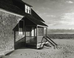 Michael Schley. Life Saving Station. Provincetown MA. Cape Cod. Gelatin Silver Print.