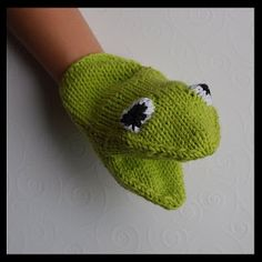 Hand puppets - knitted
