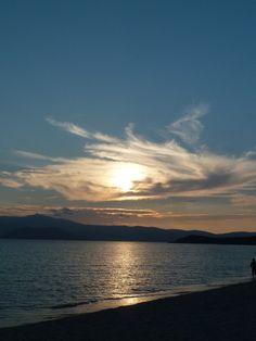 Agios Prokopios beach in Naxow island Greece
