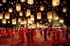 Yee Peng Festival, Chiang Mai