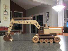 While not the largest or most impressive, this is the project that really got me into woodworking. I saw it in Wood magazine 194 (November and decided that I would someday build it. Wooden Truck, Wooden Car, Wooden Toys, Woodworking Toys, Woodworking Projects, Wood Toys Plans, Wood Magazine, Easy Wood Projects, Diy Toys