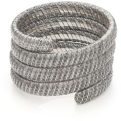 John Hardy Classic Chain Sterling Silver Multiple Coil Bracelet (94.180 RUB) ❤ liked on Polyvore featuring jewelry, bracelets, apparel & accessories, silver, engraved jewelry, chains jewelry, sterling silver jewellery, sterling silver bangles and engraved bangle