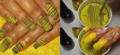 Bumblebee Nails Collage