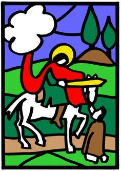 Bildvorlagen Martin Von Tours, St Martin, Bowser, Saints, Preschool, Paper Crafts, Fictional Characters, Martini, Advent