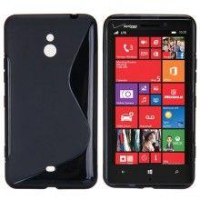 Capa Nokia Lumia 1320 MiniGel Sline Preta R$22,60