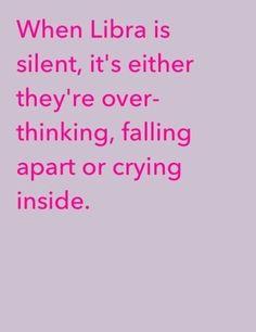 I'm always quiet and this is all true.. →Libra&Scorpio