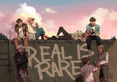 K Pop, Bts Anime, Video Clips, Bts Drawings, Bts Taehyung, Namjoon, Jimin, Bts Fans, Kpop Fanart