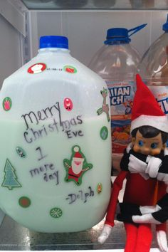 Cute (and easy) idea for the day before Christmas