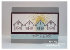 Happy For You, CCMC356, Stampin' Up!, 2015 SAB, You Brighten My Day, Crazy About You, Kindness Matters