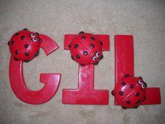 1 chocolate animal ladybug baby shower 3x4 letter lollipops lollipop | sapphirechocolates - Edibles on ArtFire