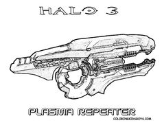 17 Best Halo 5 4 3 Reach Coloring Pages images in 2019