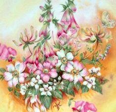 Royal Albert - Shakespeare's Flowers - Collector Plates www.royalalbertpatterns.com Royal Albert, Shakespeare, The Collector, China, Paintings, Plates, Flowers, Art, Tea Cup Saucer